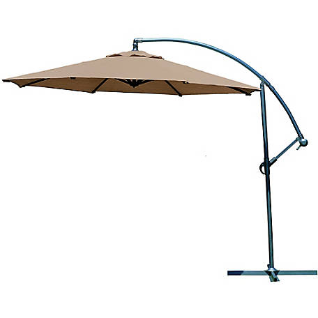 Coolaroo 10 ft. Round Cantilever Umbrella