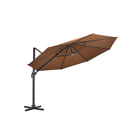 Coolaroo 12 ft. Round Cantilever Umbrella