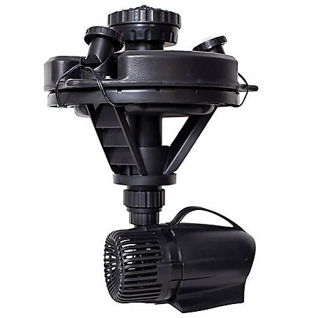 Pond Boss 1/4 HP Floating Fountain With Lights