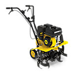 Champion Power Equipment 22 in. Dual Rotating Front Tine Tiller with Storable Transport Wheels