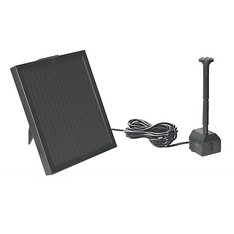 Pond Boss 40 GPH Solar Fountain Pump Kit