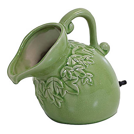 Pond Boss Ceramic Pouring Pitcher Spitter, Sage