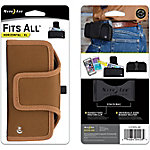 Nite Ize Fits All Horizontal Phone Case, XL, Duck Brown