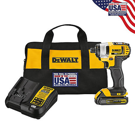 DeWALT 20V MAX Lithium Impact Driver at Tractor Supply Co