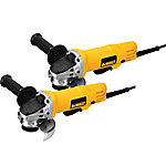 DeWALT 7.5 Amp Corded 4.5 in. 12,000 RPM Paddle Switch Small Angle Grinder (2-Pack)
