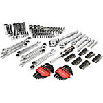 Crescent 150-Piece Mechanics Tool Set featuring GearWrench Ratcheting Wrenches