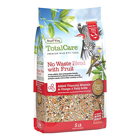 Royal Wing Total Care No Waste Blend with Fruit, 5 lb.