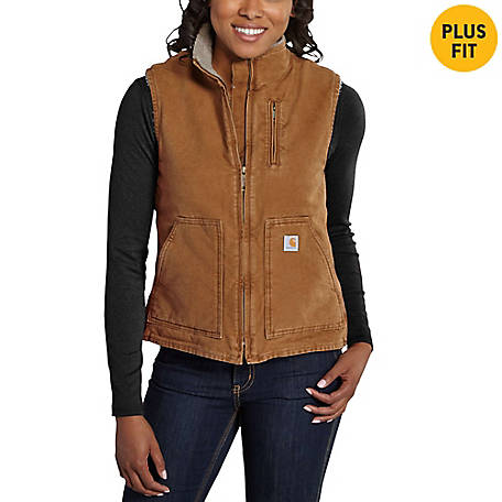 Carhartt Women's Mock Neck Vest WV001