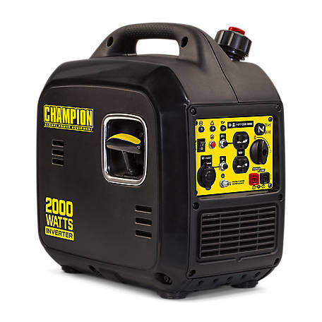 Champion Power Equipment 2000-Watt Ultralight Portable Inverter Generator, 100478