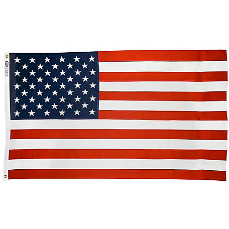 Annin Reliance Cotton American Flag, 3 ft. x 5 ft.