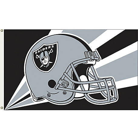 Annin Officially Licensed Oakland Raiders Flag, 3 ft. x 5 ft.