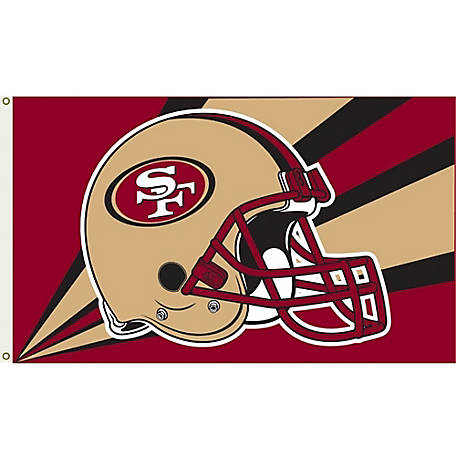 Annin Officially Licensed San Francisco 49ers Flag, 3 ft. x 5 ft.