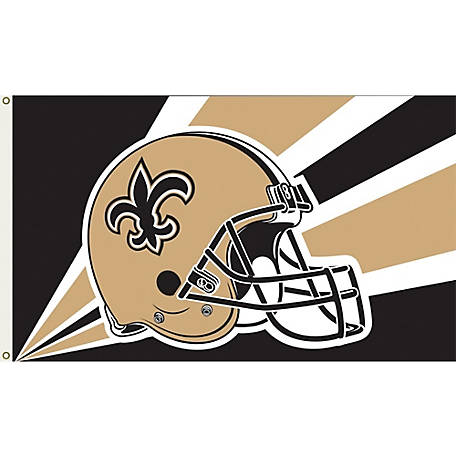 Annin Officially Licensed New Orleans Saints Flag, 3 ft. x 5 ft.