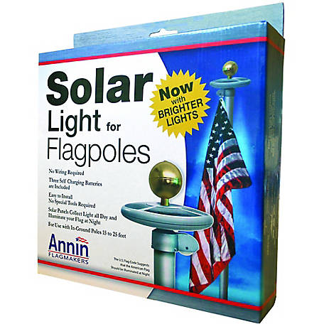 Annin Solar Light for Flagpoles