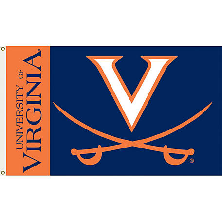 Annin Officially Licensed University of Virginia Cavaliers Flag, 3 ft. x 5 ft.