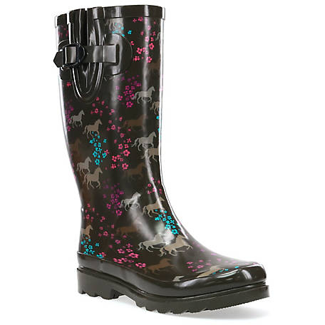 Western Chief Women's Horse Prance Rubber Boot