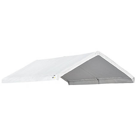 AccelaFrame Canopy 10 x 20 ft. Replacement Cover, White