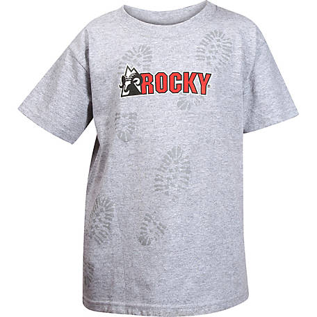 Rocky Youth Bootprint Short Sleeve Logo