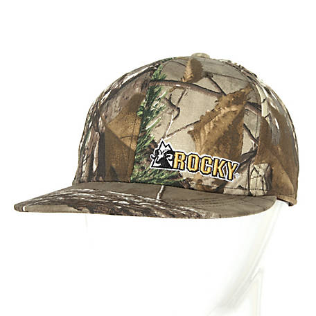 769982bdfbb Rocky Men s Camoflauge Flat Bill Cap at Tractor Supply Co.