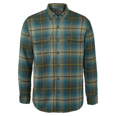 Wolverine Men S Long Sleeve Plaid Flannel Escape Shirt At Tractor