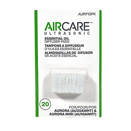 AIRCARE Essential Oil Diffuser Pad Refill 20 pads, AURP10PK