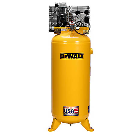 DeWALT 60 Gal. 155 PSI Stationary Electric Air Compressor, DXCM601
