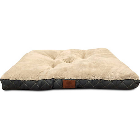 American Kennel Club AKC Tufted Diamond Quilted Trim Pet Crate Mat