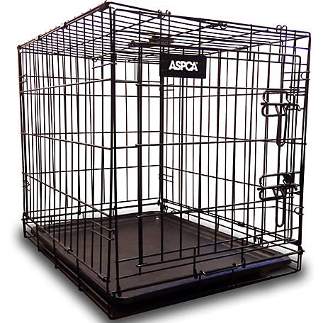 ASPCA Metal Wired Travel Pet Kennel