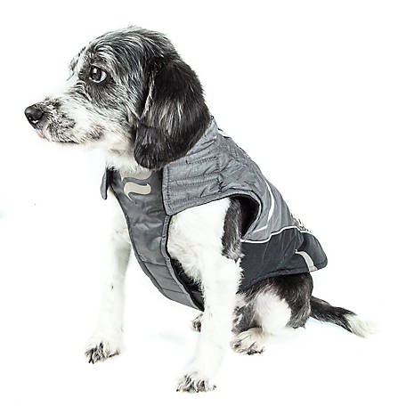 Helios Altitude-Mountaineer Wrap-Velcro Protective Waterproof Dog Coat with Blackshark Technology, Extra Large