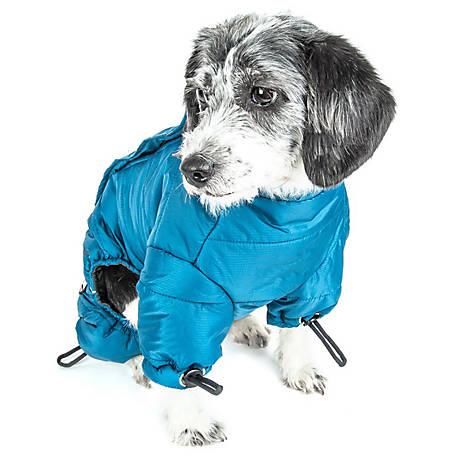 Helios Thunder-Crackle Full-Body Waded-Plush Adjustable and 3M Reflective Dog Jacket, Extra Large, Grenadine Red