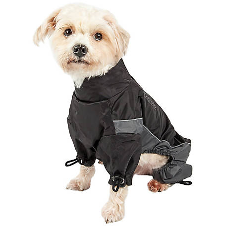 Touchdog Quantum-Ice Full-Bodied Adjustable and 3M Reflective Dog Jacket with Blackshark Technology, Extra Large