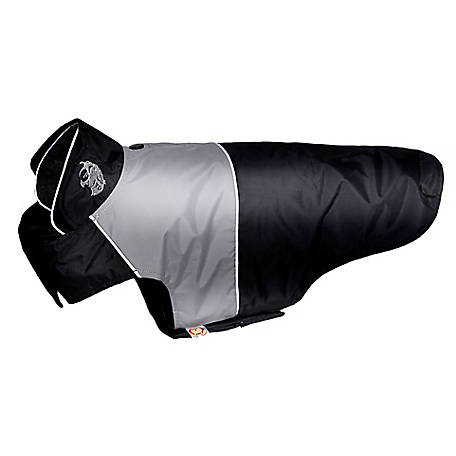 Touchdog Lightning-Shield Waterproof 2-in-1 Convertible Dog Jacket with Blackshark Technology, Extra Large
