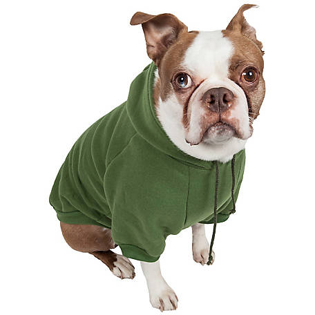 Pet Life Fashion Plush Cotton Pet Hoodie Hooded Sweater