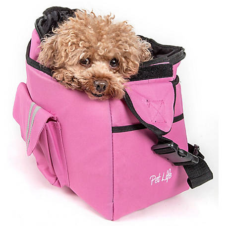 Pet Life Fashion Back-Supportive Over-The-Shoulder Fashion Pet Carrier
