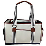 Pet Life Fashion Yacht Polo Pet Carrier, White