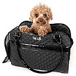 Pet Life Exquisite Handbag Fashion Pet Carrier, Red