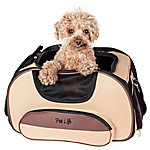 Pet Life Airline-Approved Sky-Max Modern Collapsible Pet Carrier, Pink