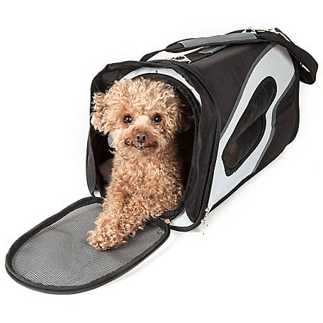 Pet Life Airline-Approved Phenom-Air Collapsible Pet Carrier