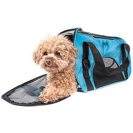 Pet Life Airline-Approved Altitude Force Sporty Zippered Fashion Pet Carrier
