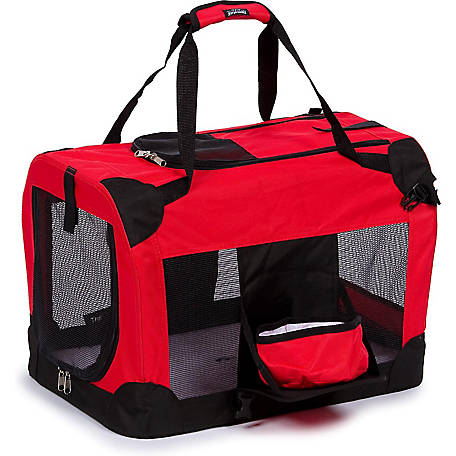 Pet Life Folding Deluxe 360 deg. Vista View House Pet Crate