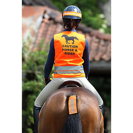 Shires Equi Flector Safety Vest Orange Xl