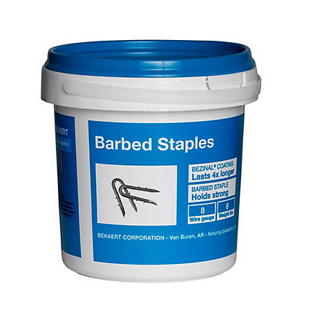 Bekaert Fence Staples Double Barb 2 in. 8 lb., 187246