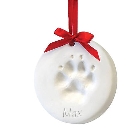 Companion Gear Pet Paw Print Christmas Ornament Kit