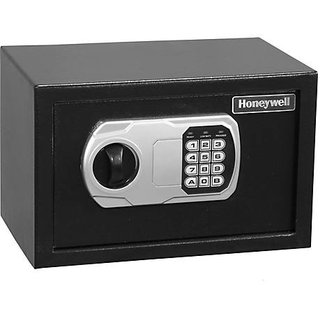Honeywell Small DOJ Approved Steel Security Safe with Digital Lock, 0.27 Cu. ft., 5101DOJ