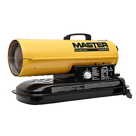 Master 80000 BTU Kerosene Forced Air Heater, MH-80T-KFA at Tractor Supply  Co