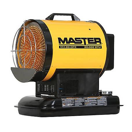 Master 80000 Btu Kerosene Radiant Heater Mh 80 Ofr At