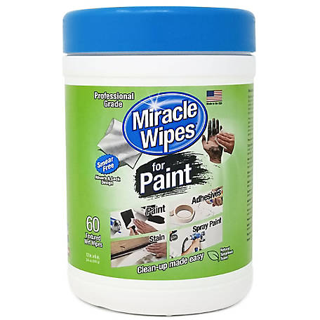 MiracleWipes Paint Wipes 60 ct., 3263