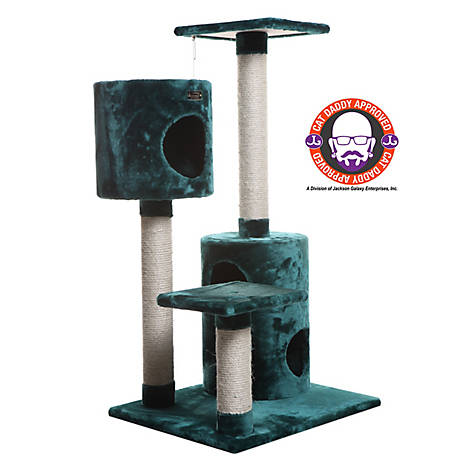 Armarkat Cat Tree, Model A4301, Dark Green