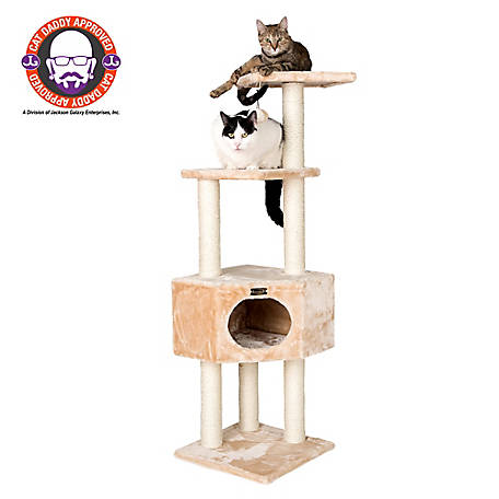 Armarkat Cat Tree, Model A5201, Beige