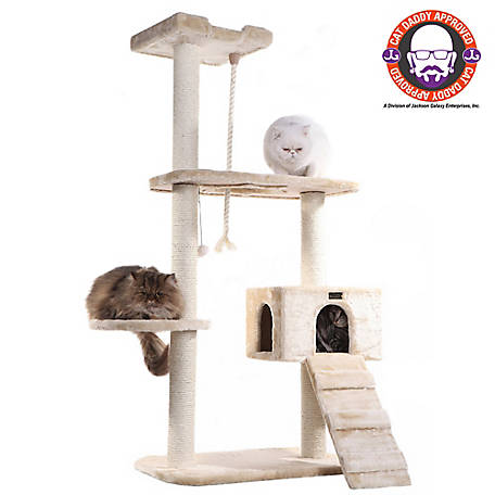 Armarkat Cat Tree, Model A5801, Beige